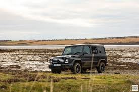 mercedes jeep 2016 matte black mercedes benz g class coast to coast in scotland