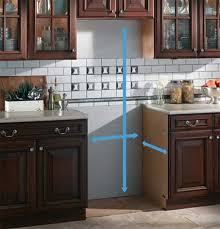 Measuring For Kitchen Cabinets by For A New Refrigerator