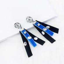 black and blue ribbon blau band ohrringe kaufen billigblau band ohrringe partien aus