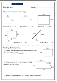 perimeter of irregular shapes mathematics skills online