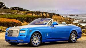 roll royce blue uautoknow net rolls royce phantom drophead coupé waterspeed