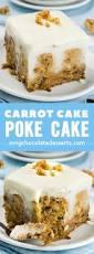 dessert doesn u0027t get much better than cinnamon roll poke cake