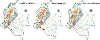 Pennsylvania Gold Prospecting Maps by Malaria In Gold Mining Areas In Colombia