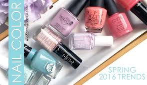 the hottest nail colors for spring youtube