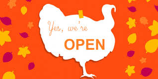who is open for thanksgiving save newport