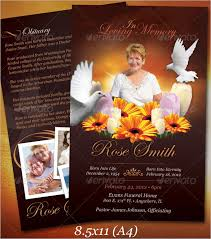 Downloadable Funeral Program Templates Funeral Obituary Template 22 Free Word Excel Pdf Psd Format