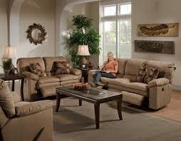 Brown Fabric Sofa Set Light Brown Fabric Impulse Modern Reclining Sofa W Options