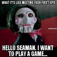 Meme Meeting - meeting a chief for the first time navy memes clean mandatory fun