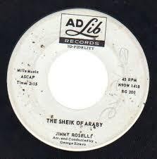 a fool in love a fool in love the sheik of araby jimmy roselli 7 recordsale