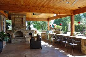 covered patio with fireplace ne dallas and southlake porches and covered patios