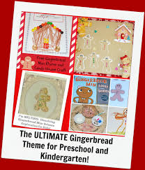 the ultimate gingerbread theme for preschool and kindergarten