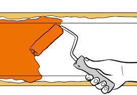 wand streifen wandstreifen streichen in 5 schritten obi ratgeber