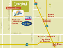 free maps and driving directions anaheim hotel map and driving directions to anaheim and disneyland