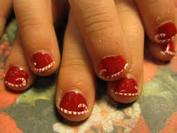 15 simple easy christmas nail art designs ideas 2012 for beginners