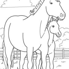 coloring pages farm animals babies archives mente beta