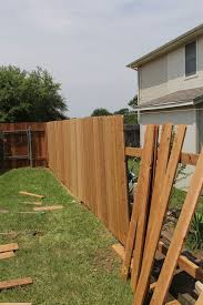 Backyard Fence Ideas Pictures Backyard Wood Fence Ideas Idolproject Me