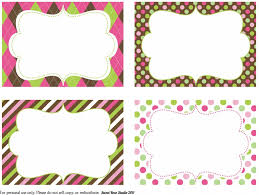 blank label template 4 best images of printable fancy labels template free blank