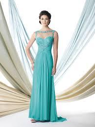 sleeveless chiffon a line dress montage by mon cheri 114910