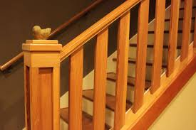 Stair Handrail Ideas Images About Stair Railings On Pinterest Railing Unfinished Wood