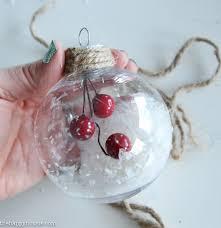 simple diy ornaments the happy housie