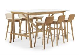 high table with stools product watch lyndon design high table bar stools design insider