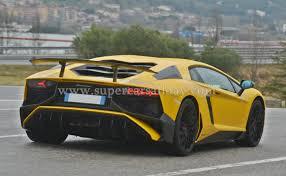 2014 Lamborghini Aventador Coupe - lamborghini aventador lp750 4 sv spotted on the road