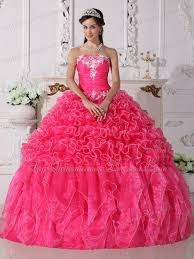 quinceanera dresses pink pink quinceanera dress strapless with embroidery ruffles