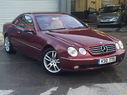2000 mercedes cl500 cl 500 great colour combination u0026 great spec