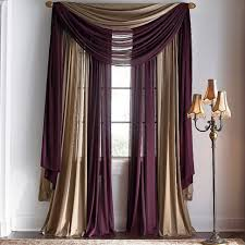 Multi Color Curtains Curtain Multi Color Sheer Curtains Colored Curtain Panels Scarf
