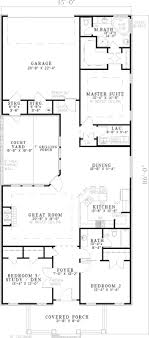 floor plans for narrow lots 12 best narrow lot house plans images on floor plans