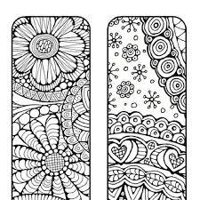 bookmarks color print bookmark littleshoptreasures