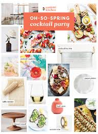 a spring cocktail party confetti kitchen