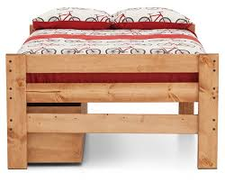 Durango Bunk Bed With  Storage Drawers And Ladder Furniture Row - Durango bunk bed