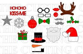christmas photo booth props the cutting cafe christmas photo booth props templates