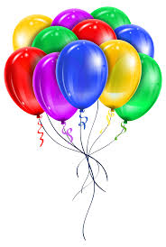 transparent multi color balloons png picture clipart gallery