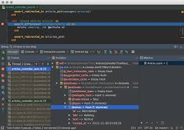 Ruby Hash Map Powerful Ruby Debugger Features Rubymine