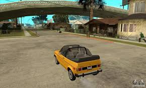 rabbit volkswagen convertible volkswagen rabbit convertible for gta san andreas