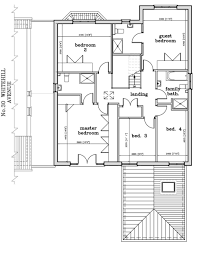 l shaped house modern floor plan layout and 3d drawing ideas home design