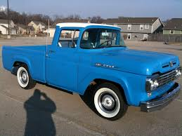 ford truck blue baby blue chalky for sale 1959 ford f100 for sale discussions at