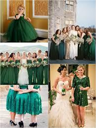 Green Wedding Dresses Top 10 Most Flattering Bridesmaid Dress Colors Wedding