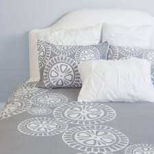 Geometric Duvet Cover Geometric Duvet Cover The Sunset Grey Crane U0026 Canopy