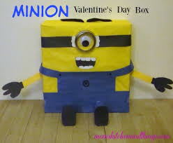 minion valentine u0027s box u2013 mom u0027s kitchen