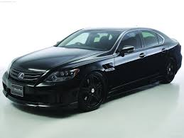 black lexus wald lexus ls600h black bison 2010 picture 2 of 17