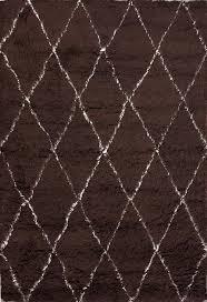 wool shag area rug in brown u2014 jen u0026 joes design shag rugs design