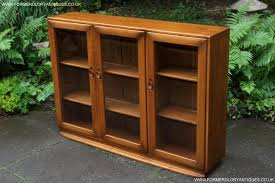 Ercol Bookcase Ercol Windsor Golden Dawn Bookcase Cd Dvd Cabinet Sideboard For