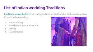 indian wedding prayer dan dortic shares 4 indian wedding traditions list