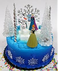 disney u0027s frozen olaf anna elsa edible icing image cake