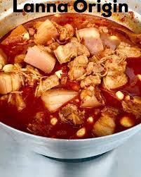 cuisine origin lanna origin แกงฮ งเล มาแล วไม ล งเล จ ดเลย เมน โปรด