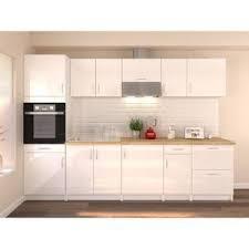 meuble cuisine laqué blanc meuble cuisine laque blanc achat vente pas cher