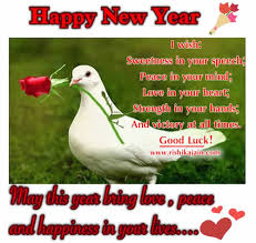 wishing you a happy and prosperous new year inspirational